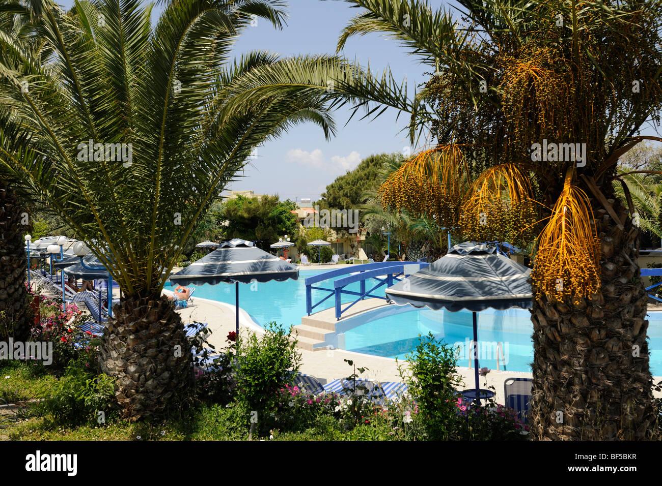 Filerimos Village Hotel Resort, Rhodes, Greece, Europe - Stock Image