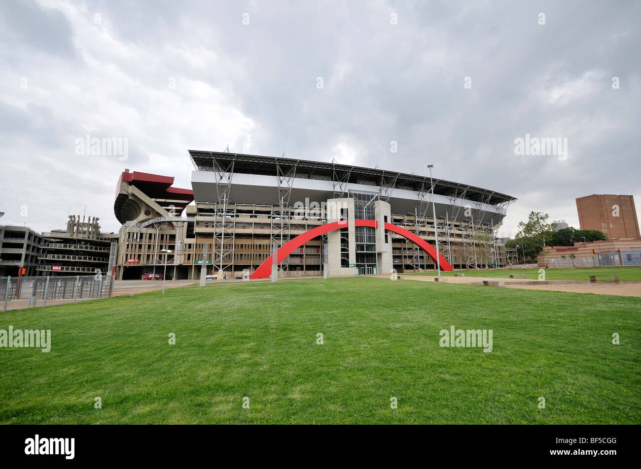 2010 FIFA World Cup, Ellis Park or Coca-Cola Park Stadium in Johannesburg, South Africa, Africa - Stock Image