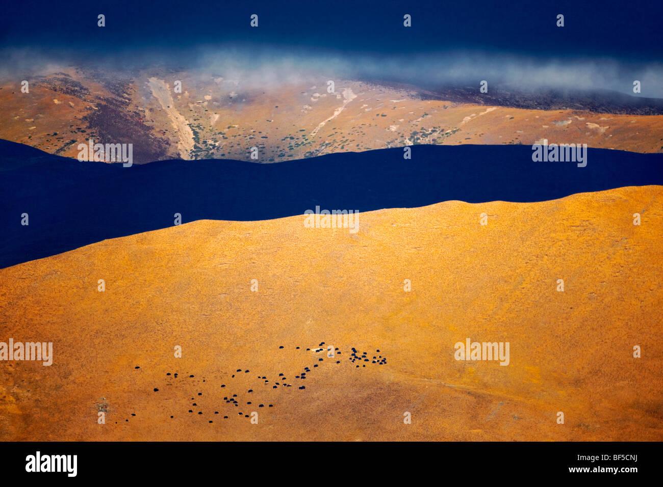 Dramatic landscape of Daocheng County, Garzê Tibetan Autonomous Prefecture, Sichuan Province, China - Stock Image