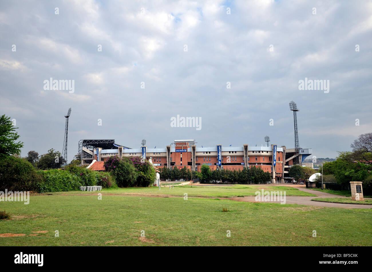 2010 FIFA World Cup, Loftus Versfeld Stadium, Pretoria, South Africa, Africa - Stock Image