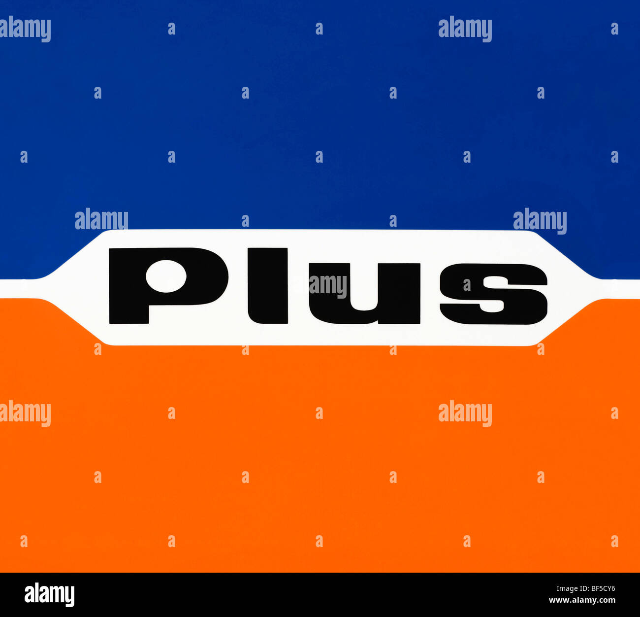 Logo, Plus, discount supermarket, Plus Warenhandelsgesellschaft mbH - Stock Image