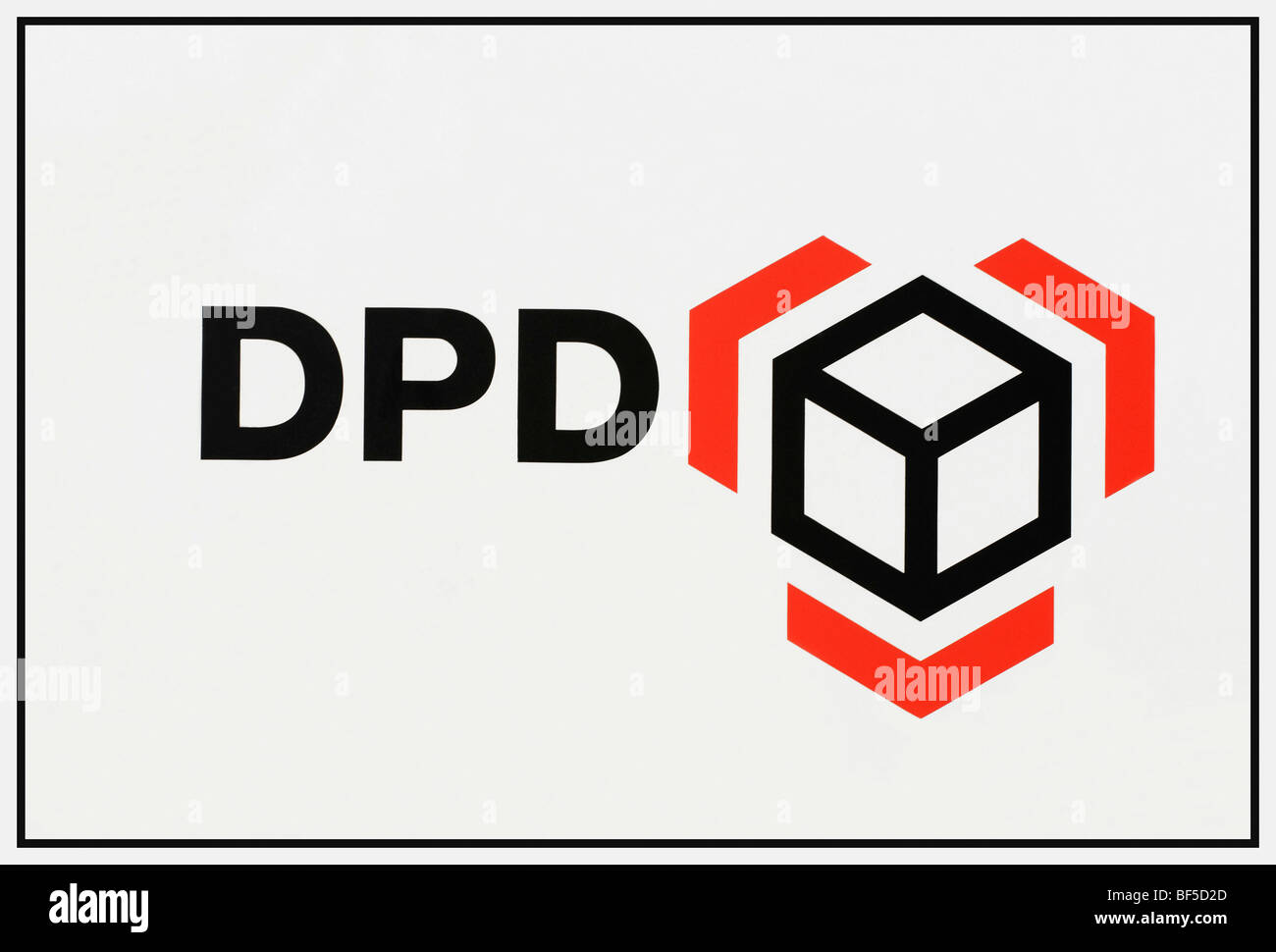 DPD logo, Dynamic Parcel Distribution GmbH & Co. KG - Stock Image