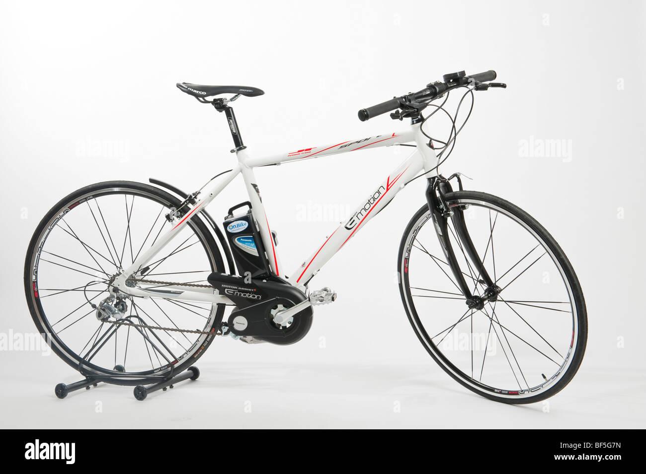 An E-motion Sport electric bike - Stock Image