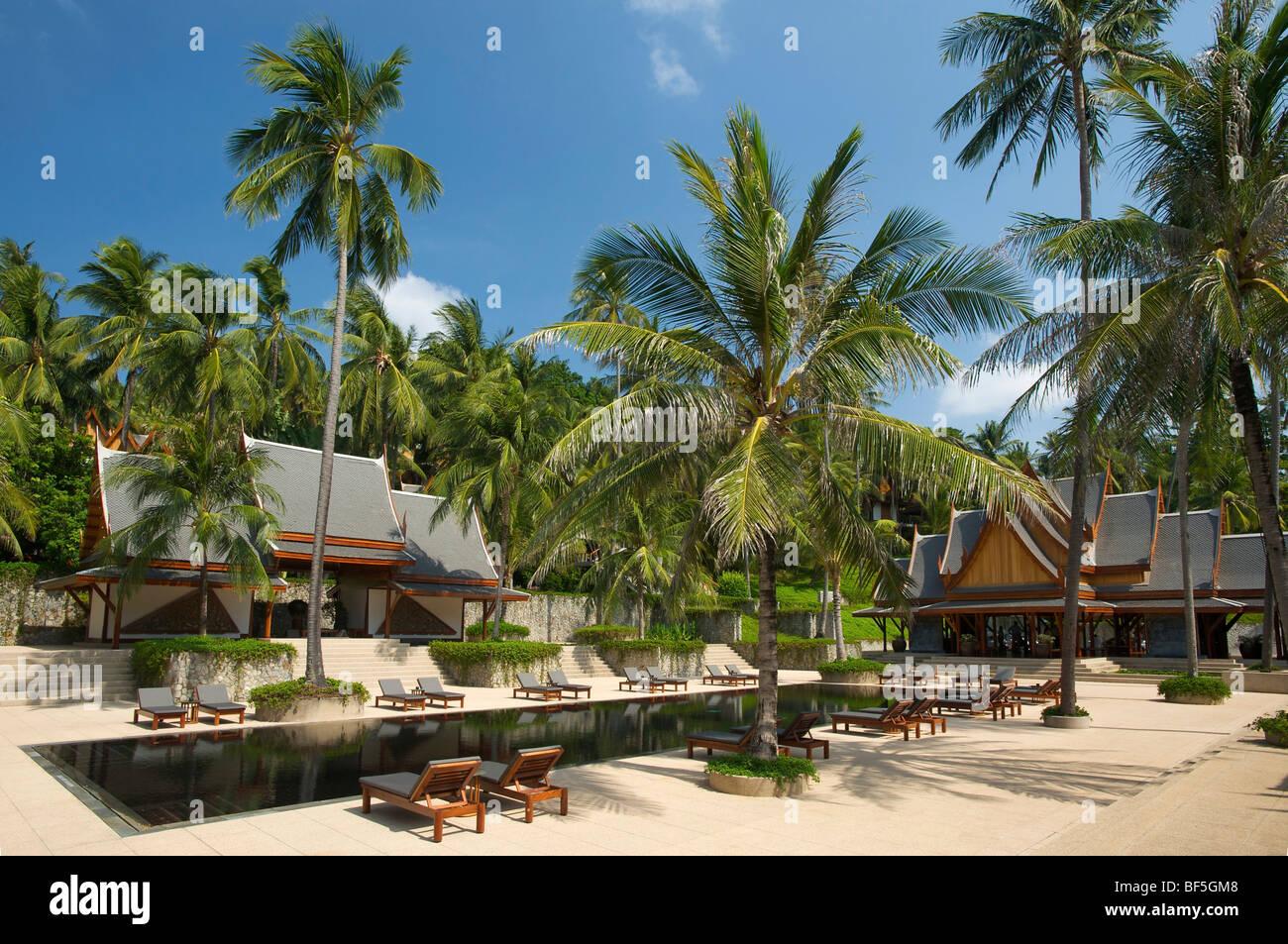 The Amanpuri Resort, Phuket Island, Thailand, Asia Stock Photo