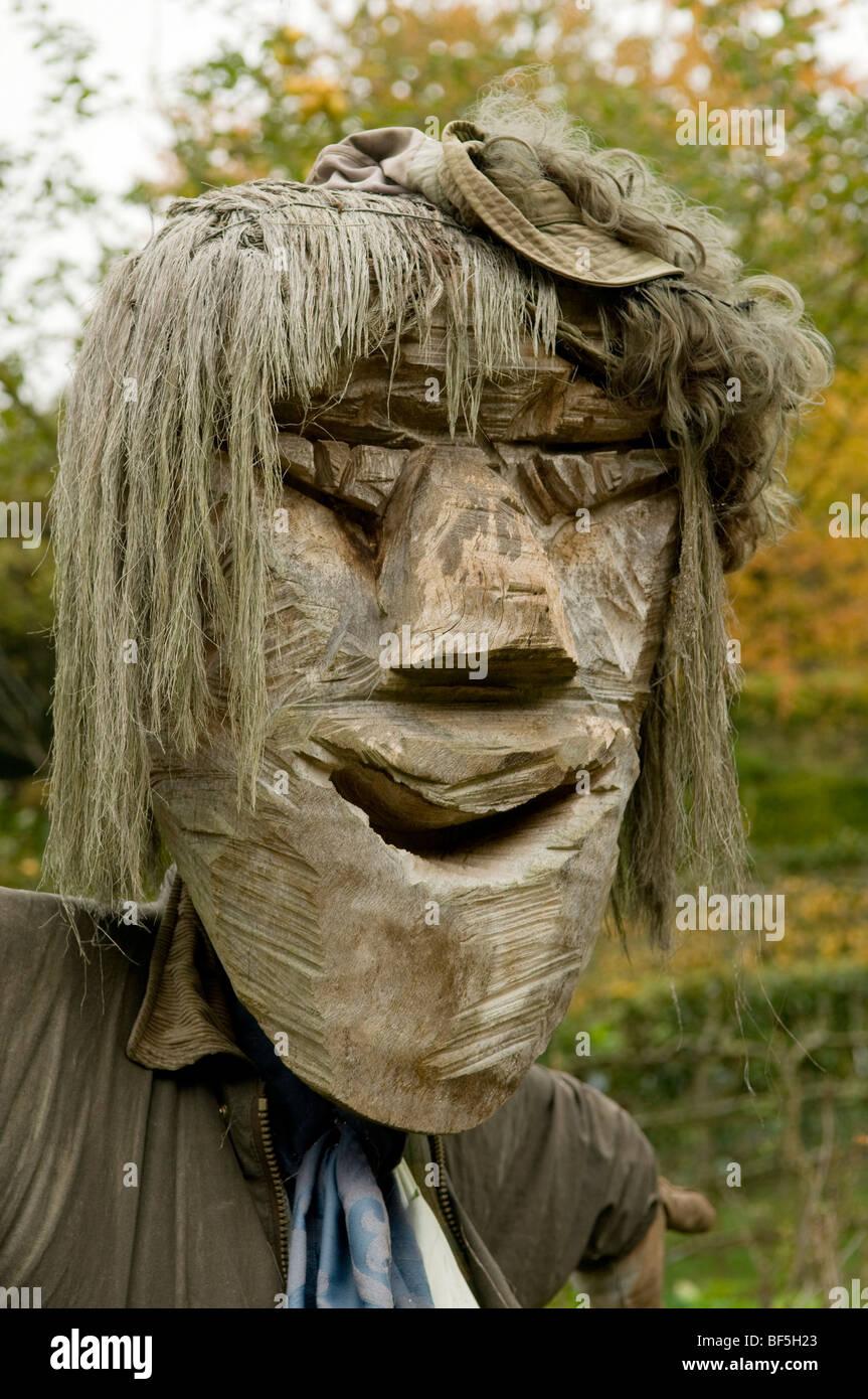 Scarecrow Protecting Garden Stock Photos & Scarecrow Protecting ...