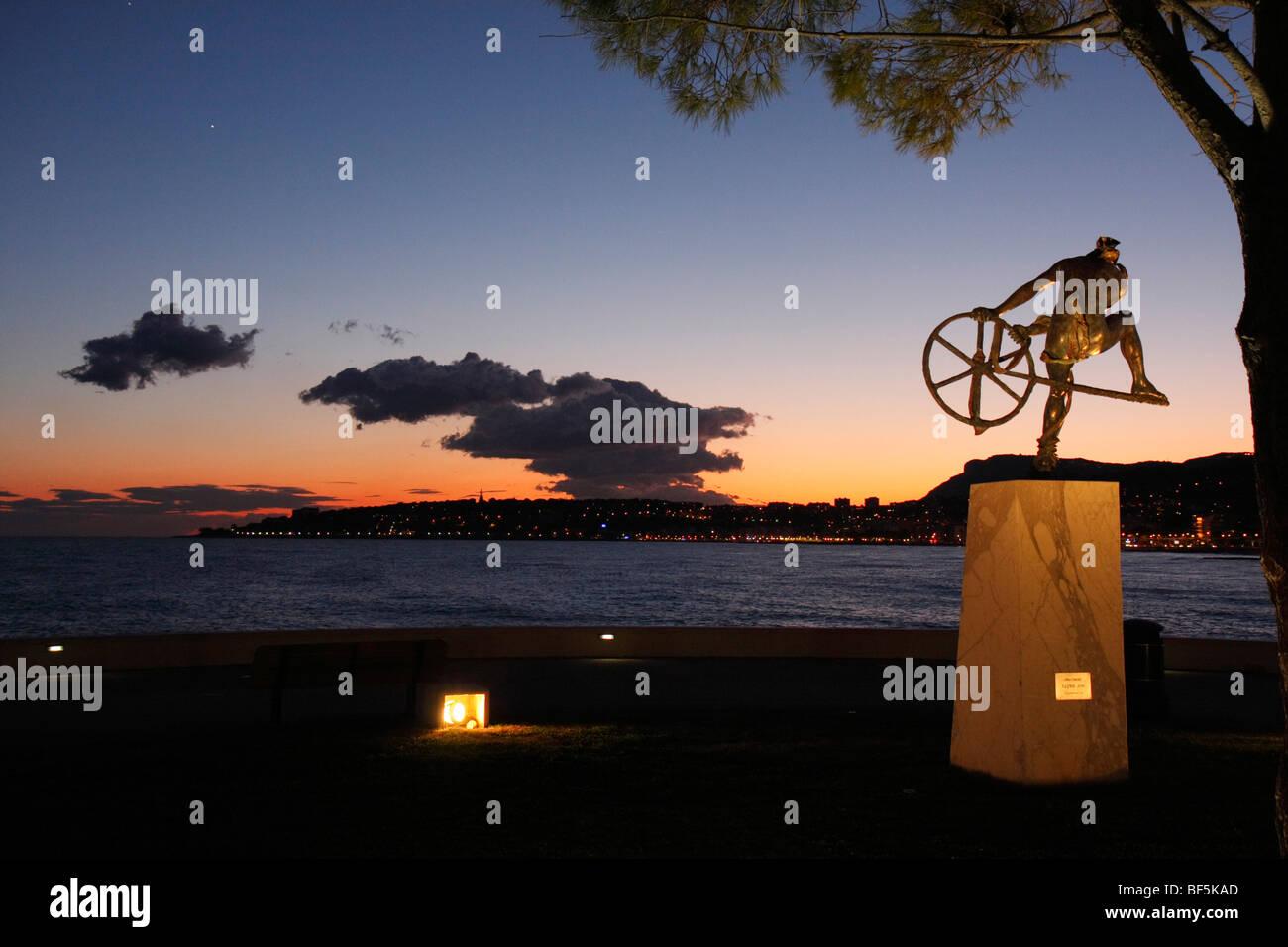 Cap Martin, Menton, Alpes Maritimes, Cote d'Azur, France, Europe - Stock Image