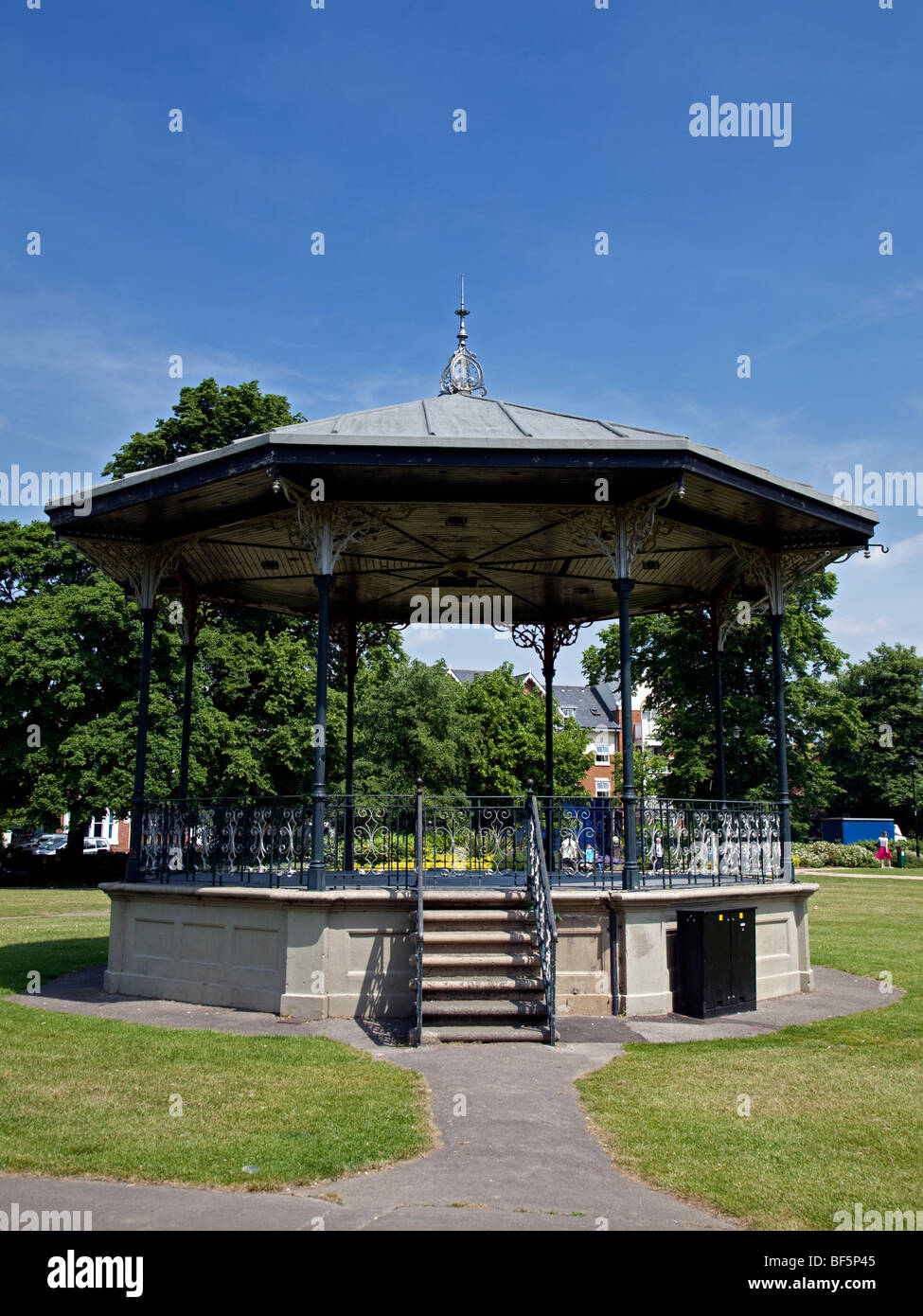 Bandstand in the Park, Eastleigh, Hampshire, England - Stock Image