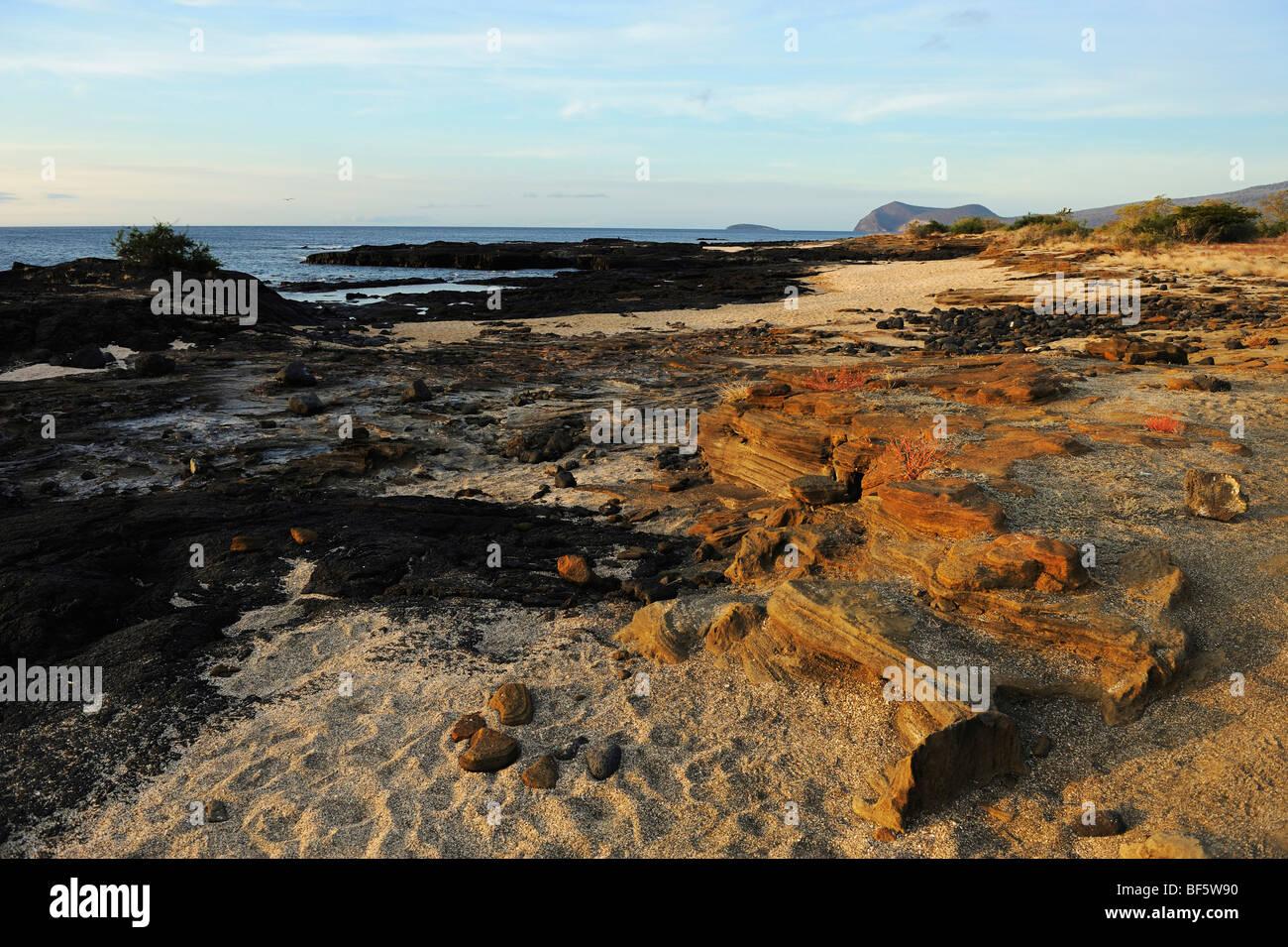 Puerto Egas Bay, Santiago Island, Galapagos Islands, Ecuador, South America Stock Photo