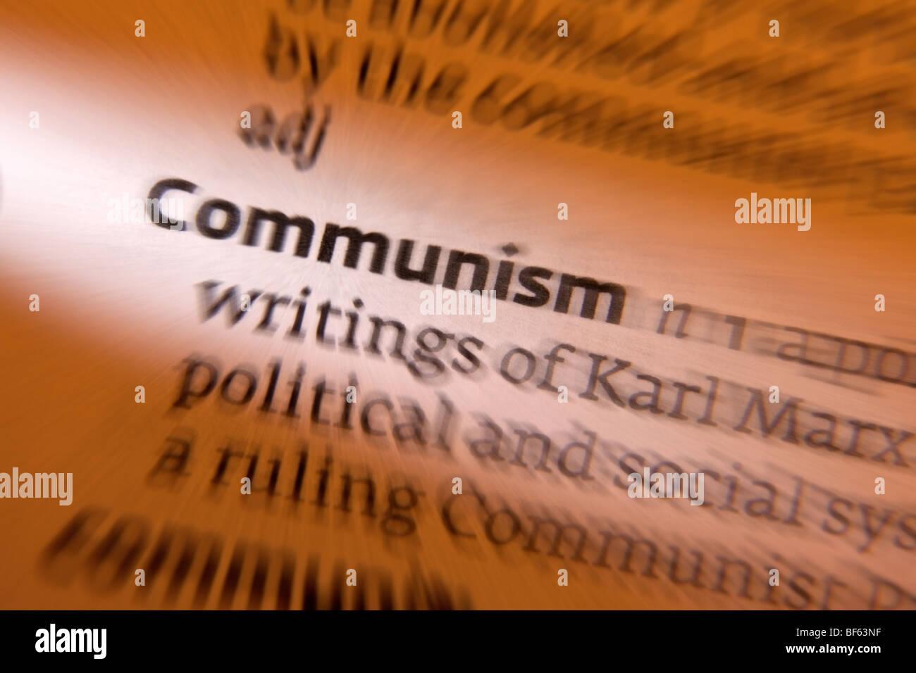 Concept - Communism - Stock Image