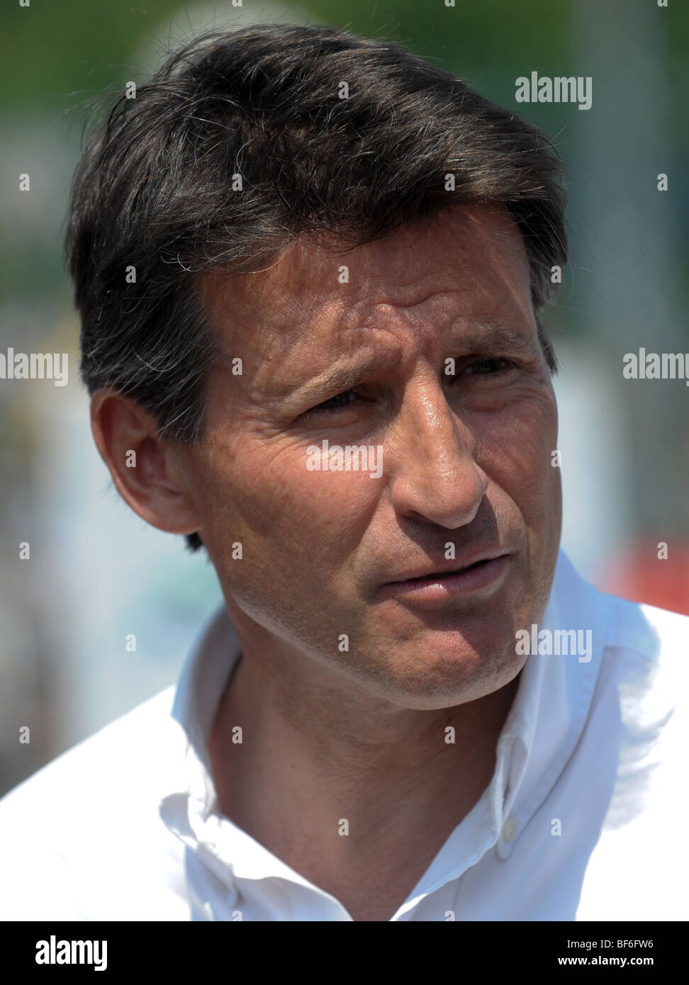 SEBASTIAN COE,LORD COE Photo by Alan Edwards - Stock Image