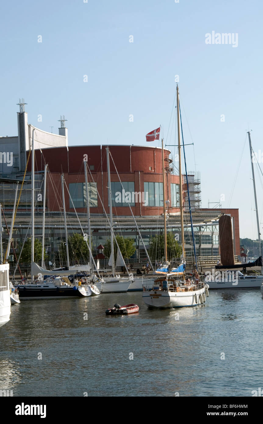 The Göteborg Opera house Gothenburg  sweden swedish culture concert venue venues music architect operan Jan - Stock Image