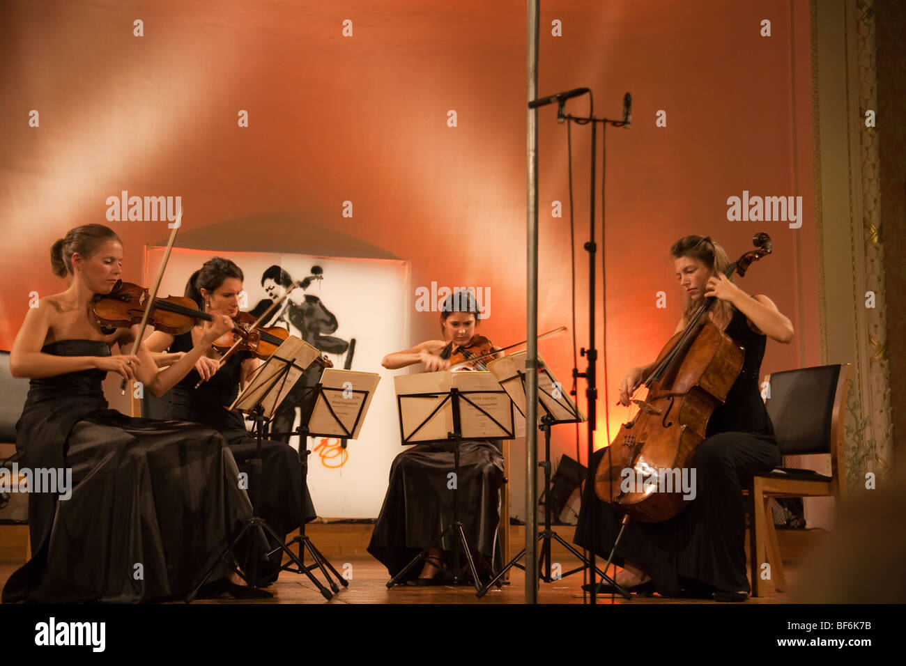 String quartet - Stock Image