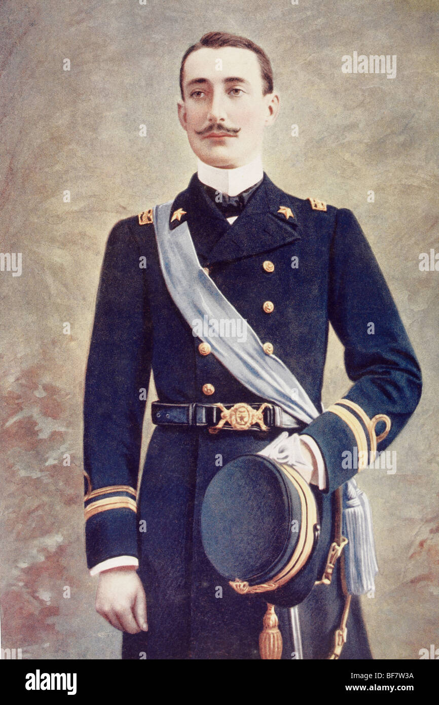 Prince Luigi Amedeo of Savoy-Aosta, Duke of the Abruzzi. - Stock Image