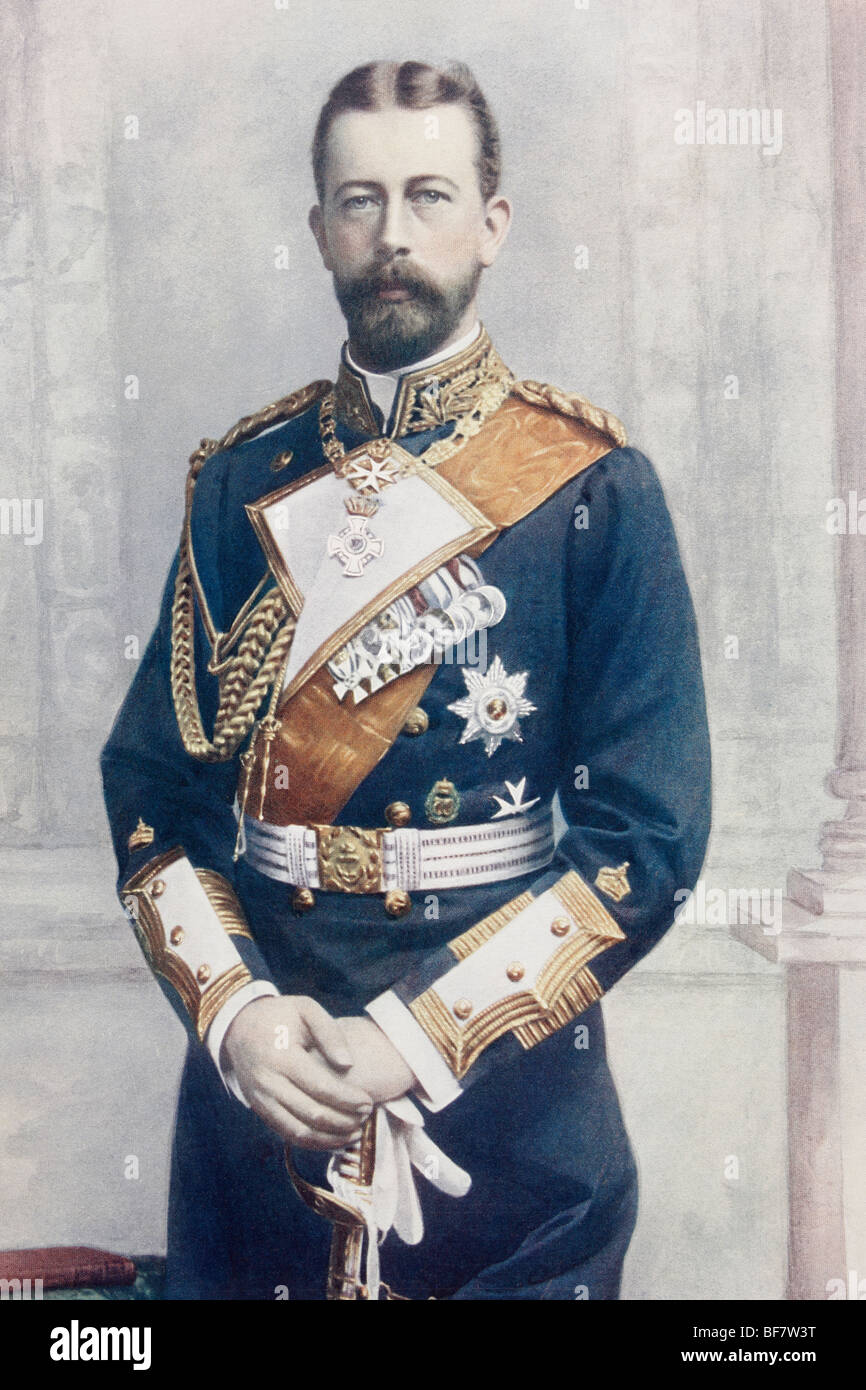 Prince Heinrich of Prussia, born Albert Wilhelm Heinrich. 1862 to 1929. Also known as Henry. - Stock Image