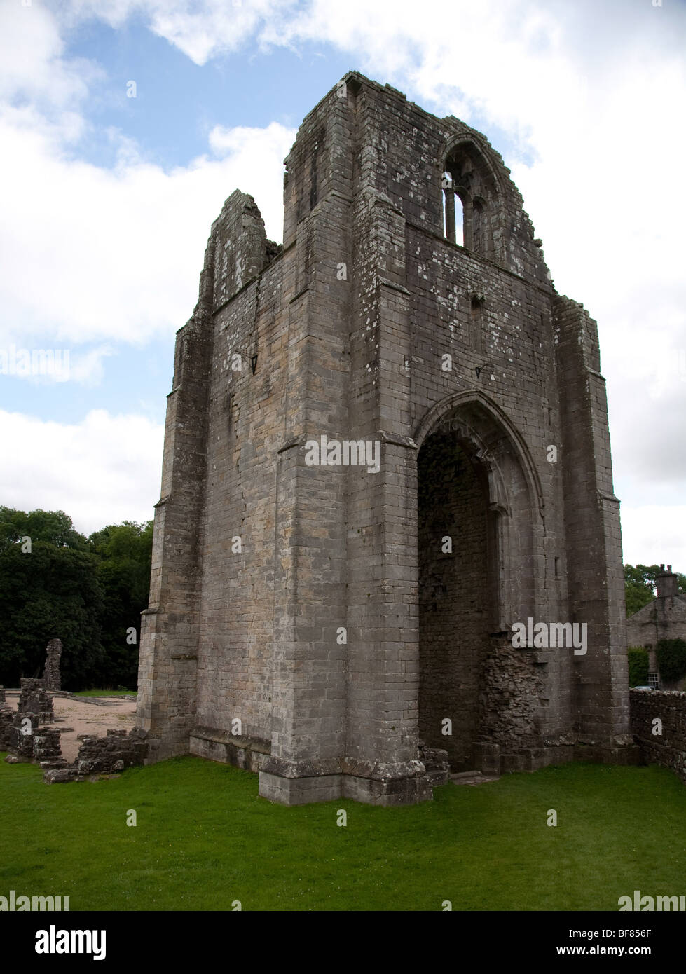 Shap Abbey, a ruined  monastery near the village of Shap in Cumbria - Stock Image