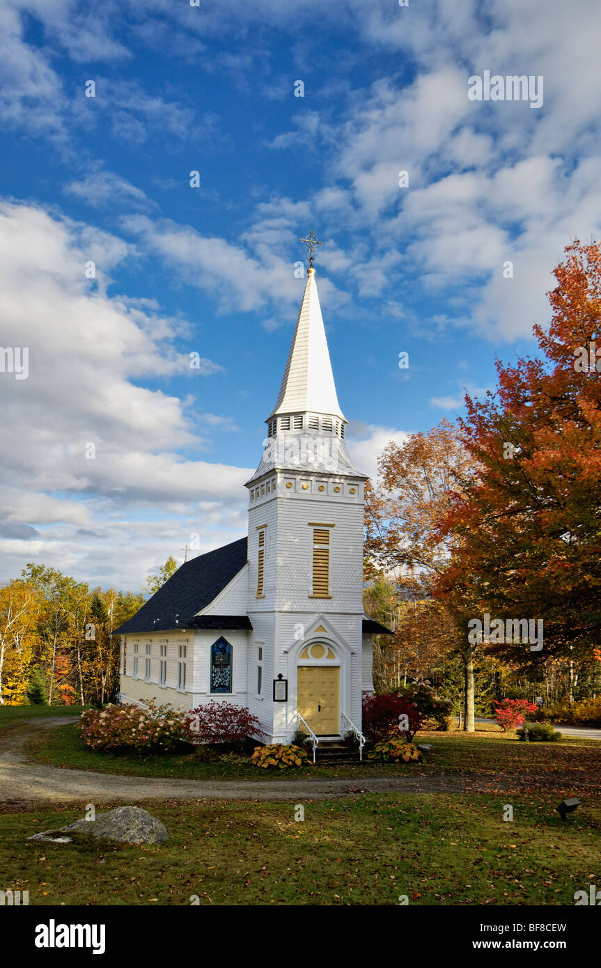 Saint Matthews Episcopal Church at Sugar Hill - Stock Image