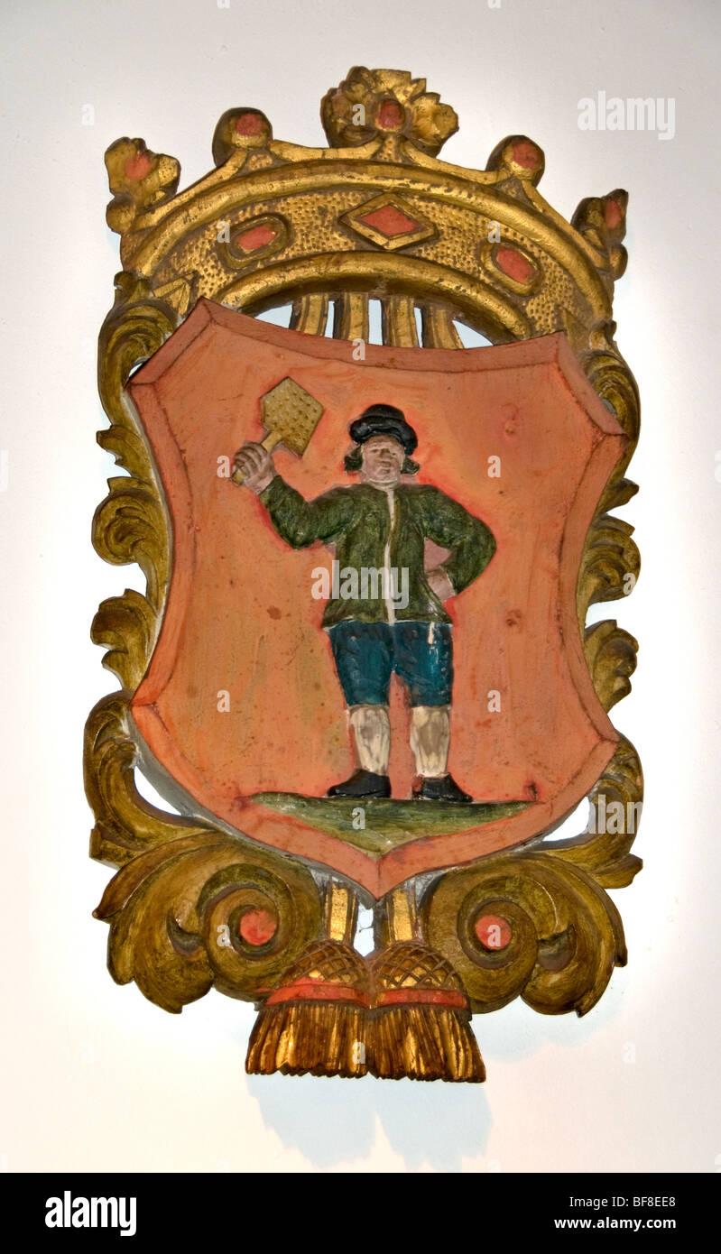 Edam Netherlands Holland guild corporation craft - Stock Image