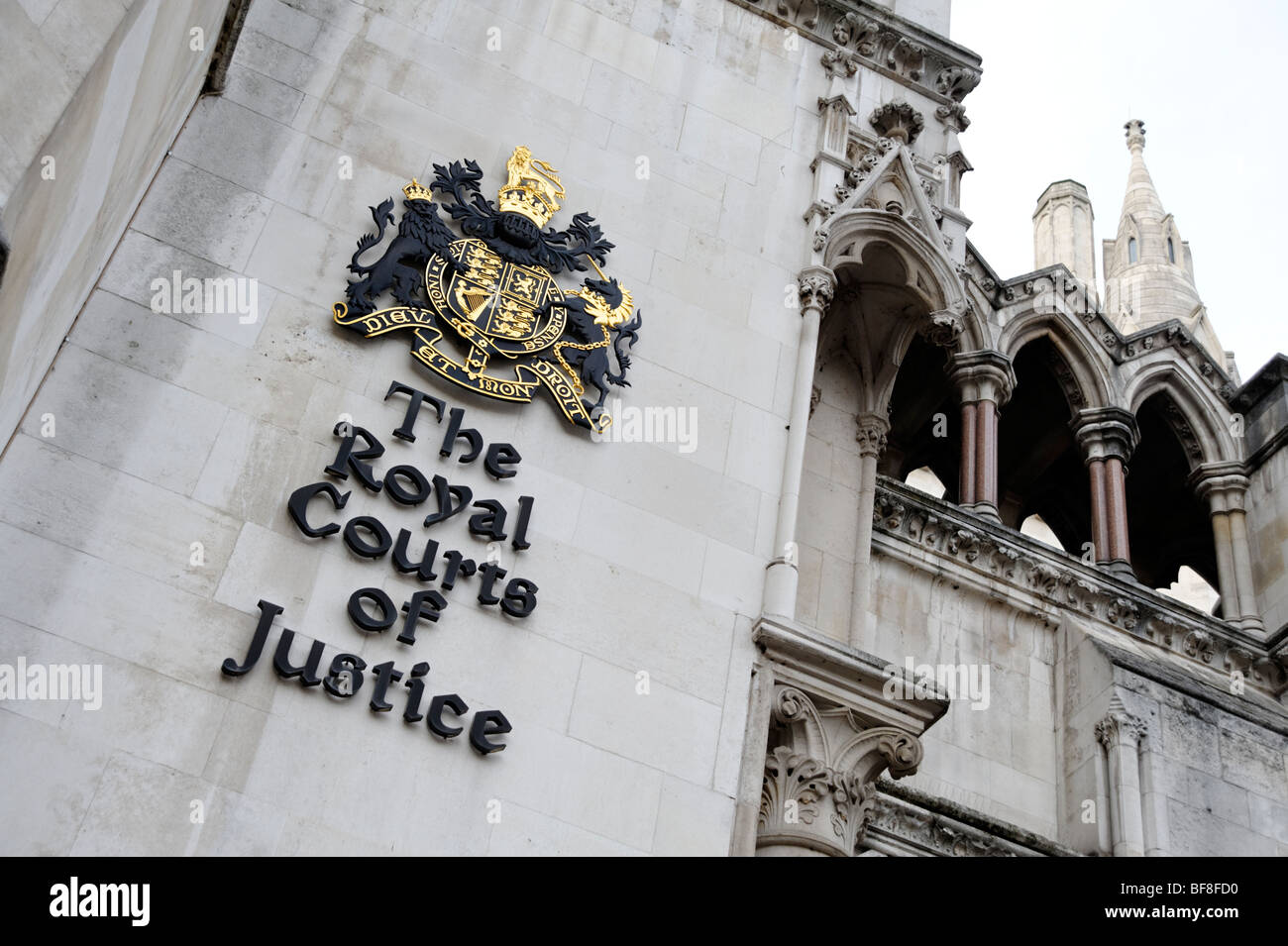 The Royal Courts of Justice. London. UK 2009. - Stock Image