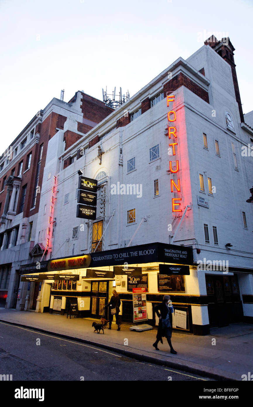 Fortune Theatre on Russell street. London. UK 2009. - Stock Image