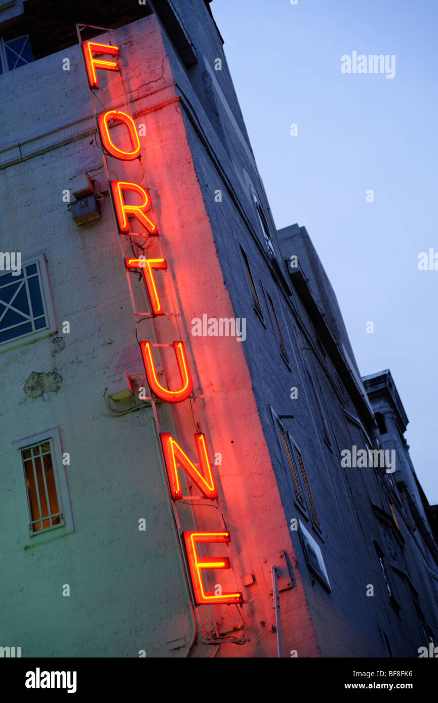Fortune Theatre on Russell street. London. UK 2009. Stock Photo
