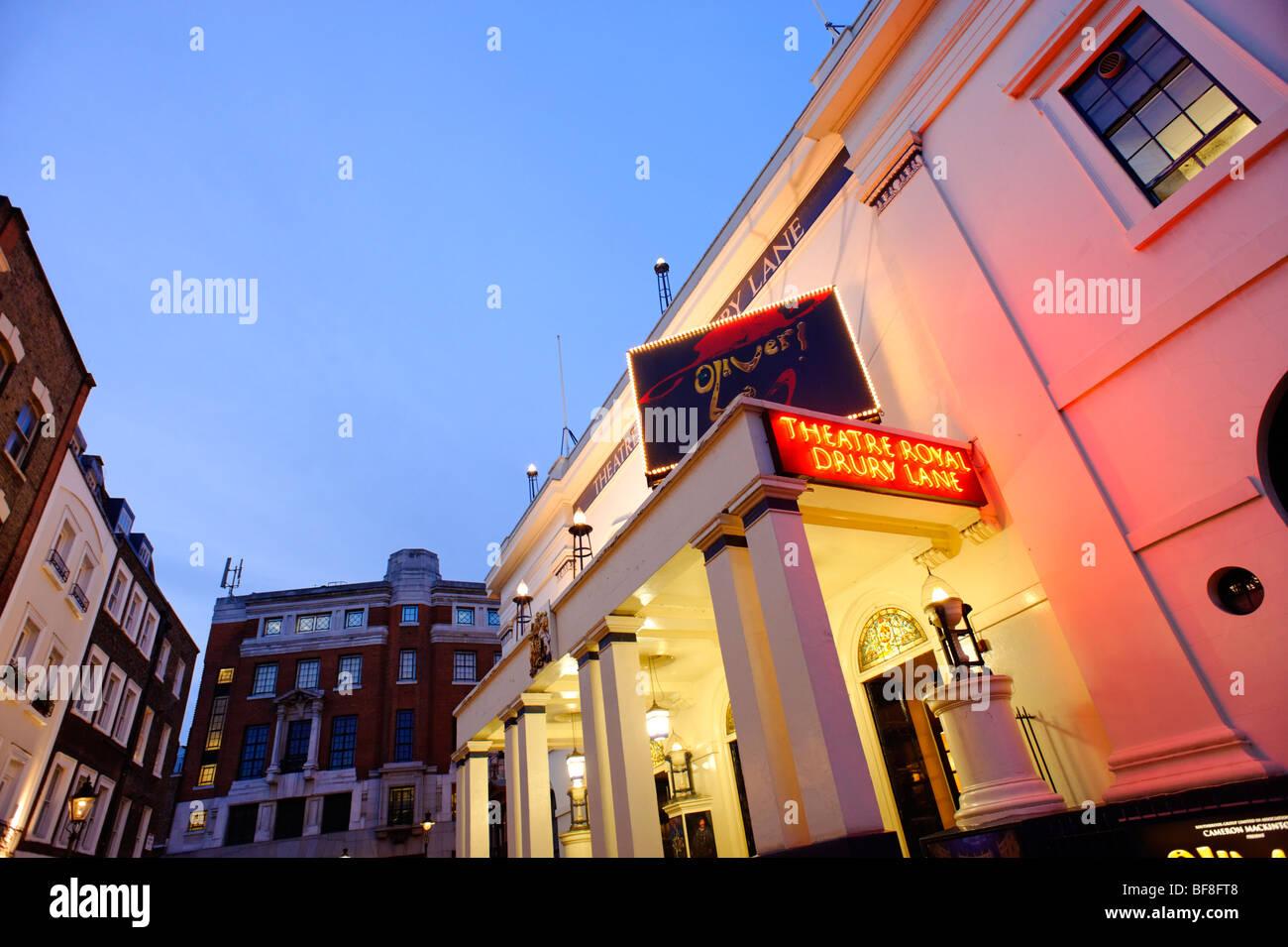 Theatre Royal Drury Lane. London. UK 2009. - Stock Image