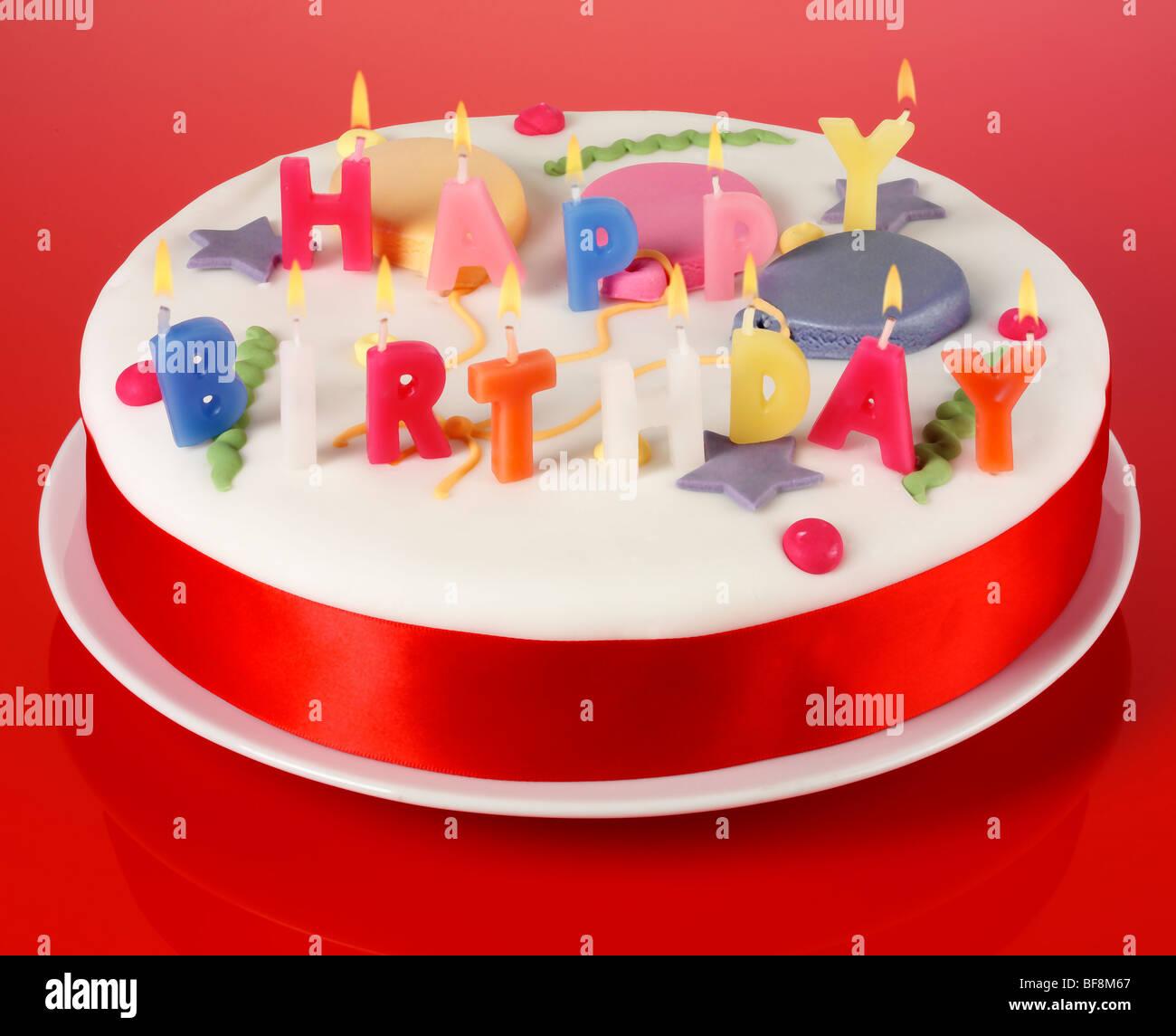 HAPPY BIRTHDAY CAKE Stock Photo 26621679
