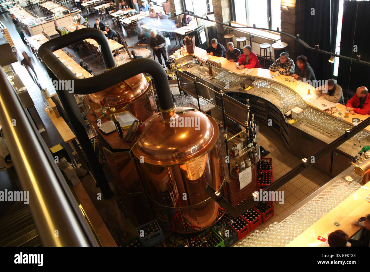 TramDepot Restaurant and Brewery - Stock Image