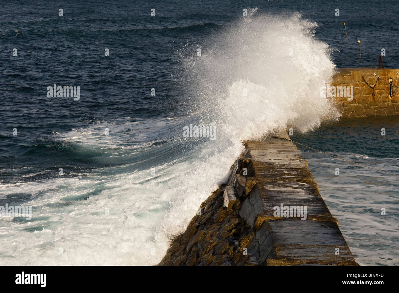 Crashing Waves 2 - Stock Image