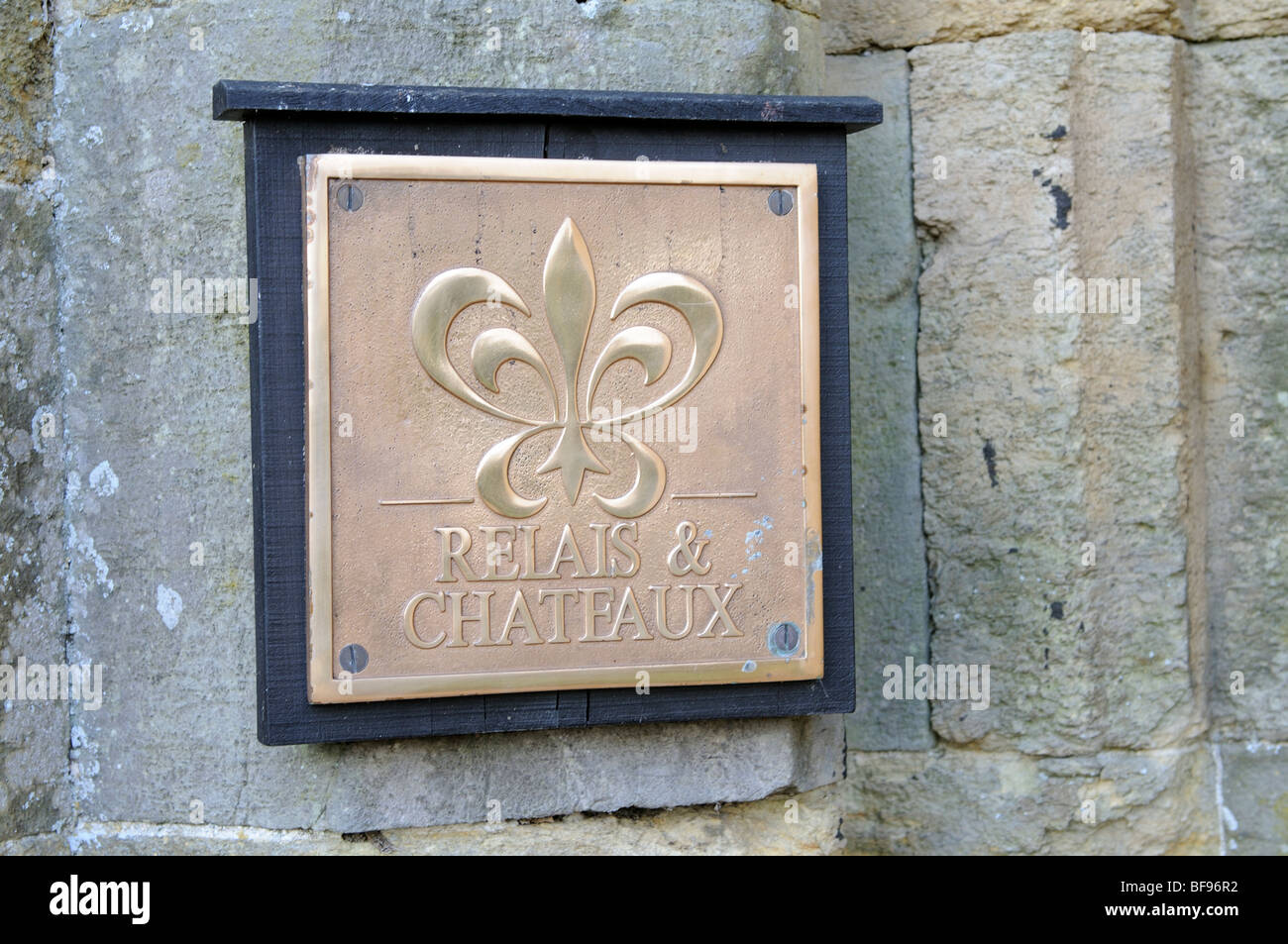 Relais & Chateaux organisation logo sign - Stock Image