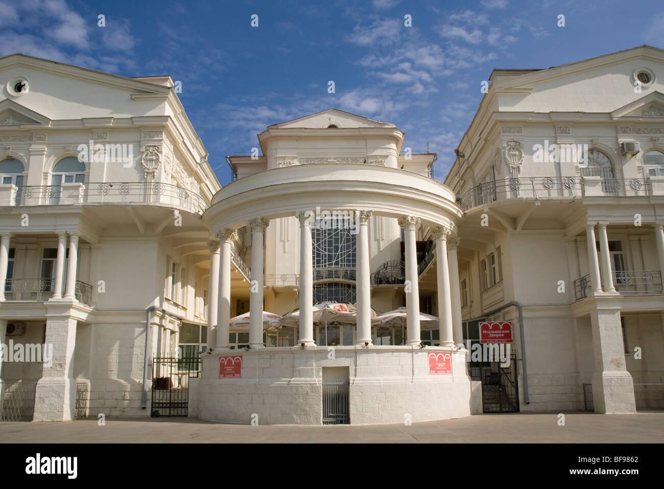 Ukraine Crimea Sevastopol Theatre - Stock Image