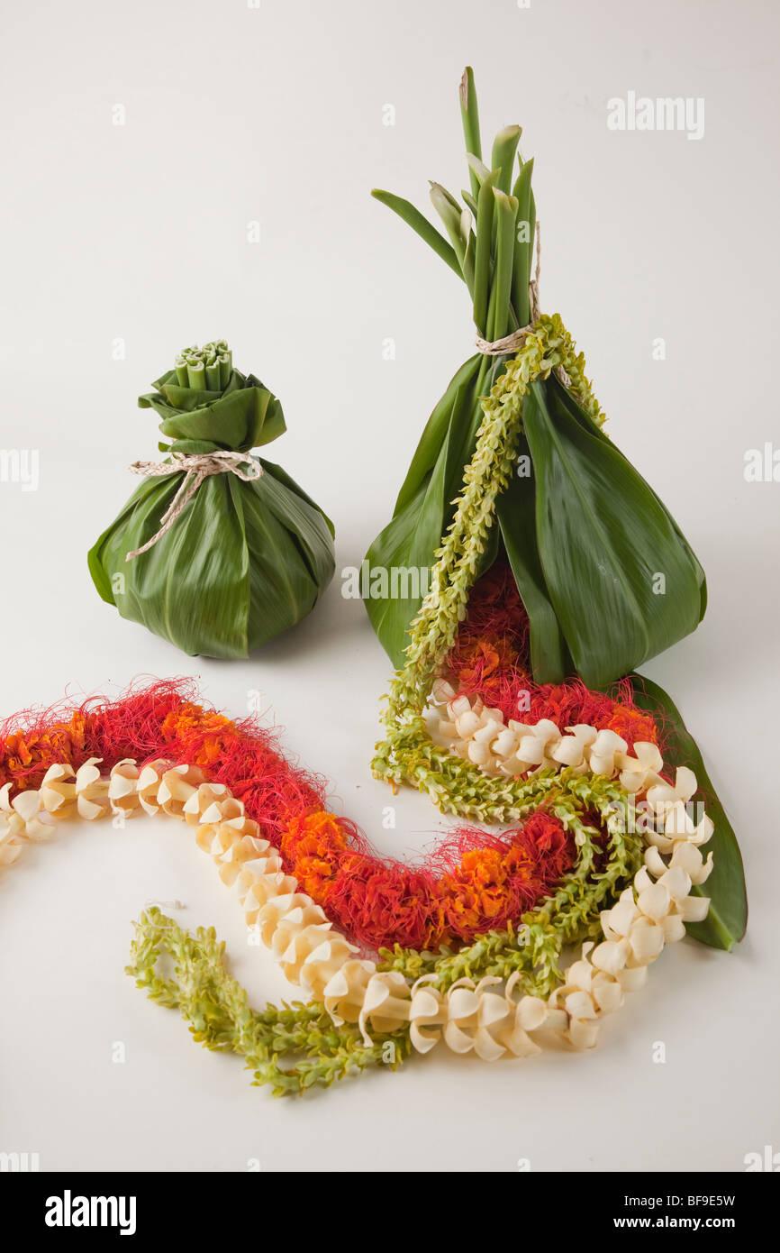 Flower Leis Hawaii Stock Photo 26638917 Alamy