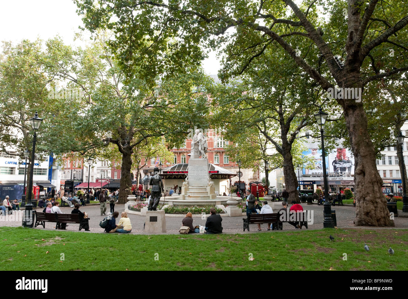 Leicester Square, London, England, UK - Stock Image