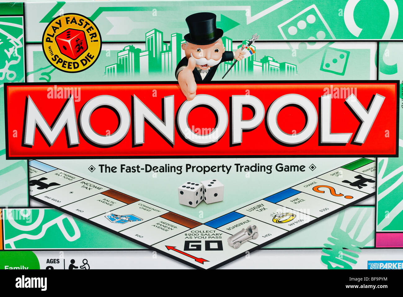 Monopoly Board Game - Stock Image