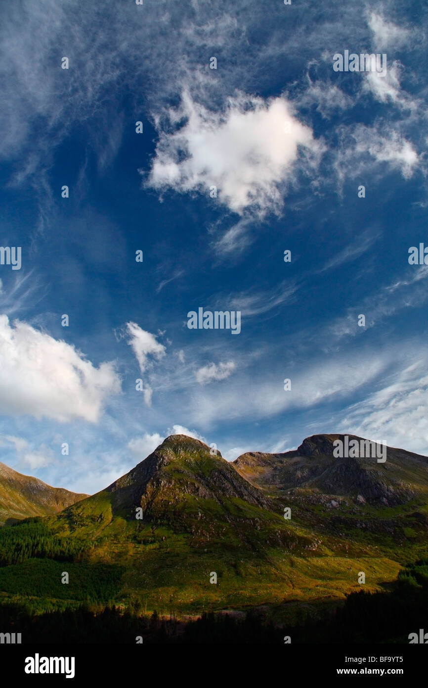 Sgorr Dhonuill summit, near Ballachulish, Highlands, Scotland, UK - Stock Image