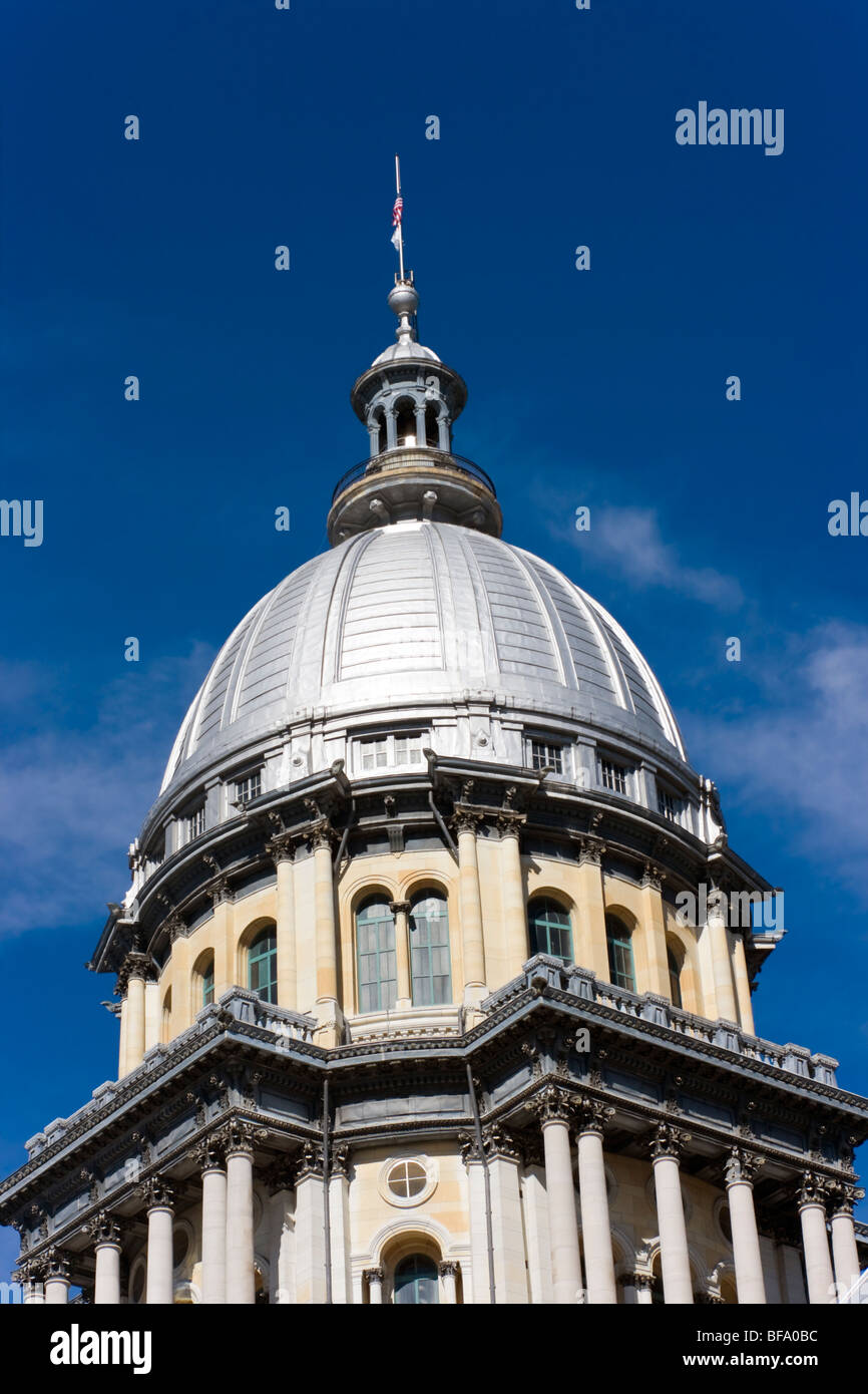State Capitol of Illinois. - Stock Image