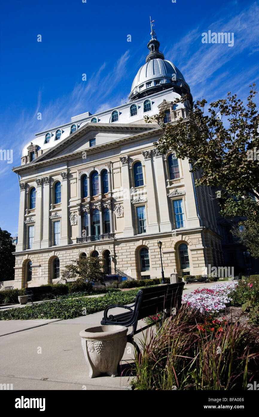 State Capitol of Illinois in Springfield. - Stock Image