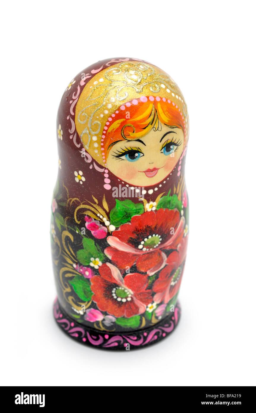 Russian Nesting Doll -  Matryoshka - Stock Image