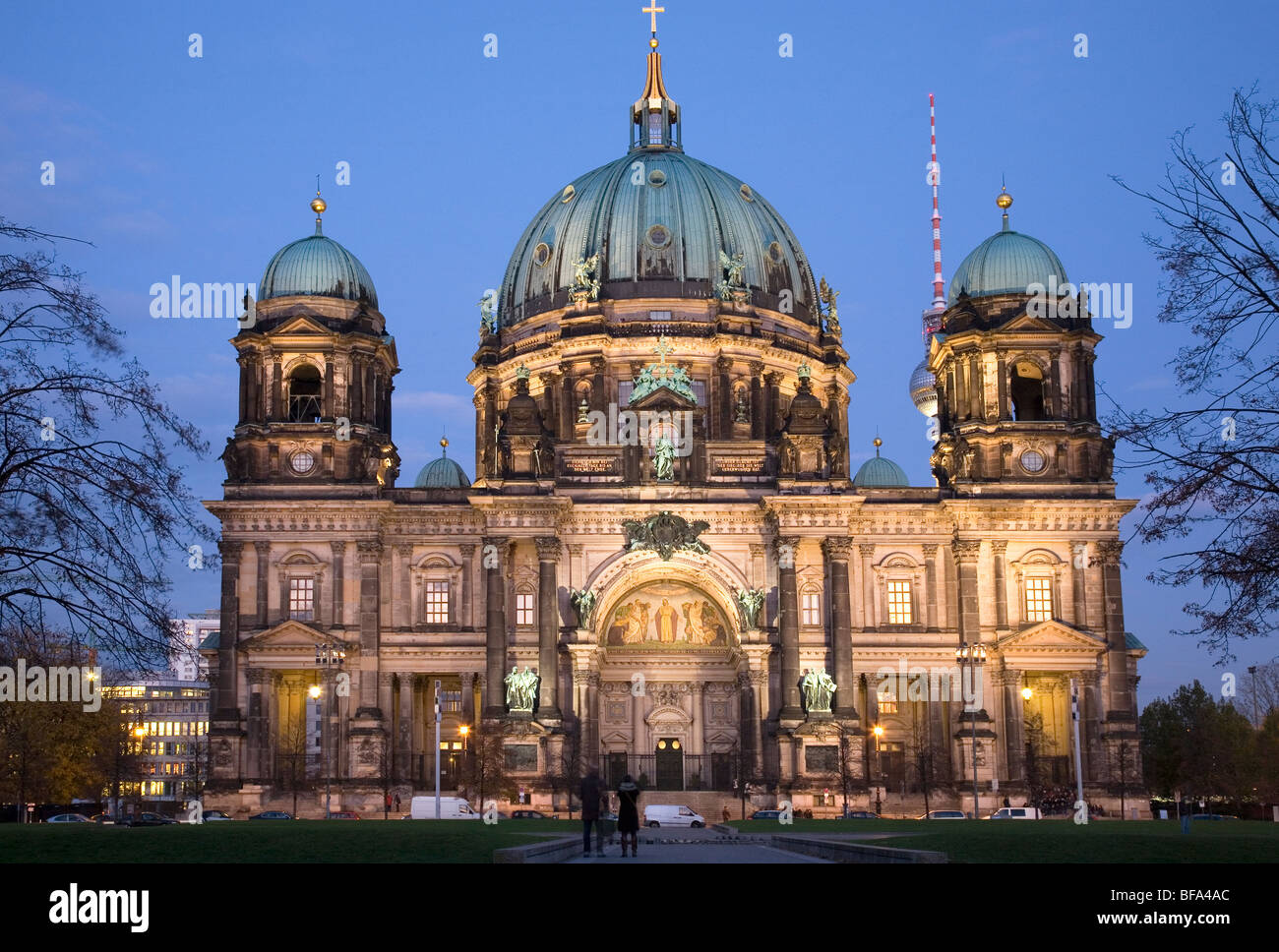 Berlin Cathedral, Berlin, Germany Stock Photo