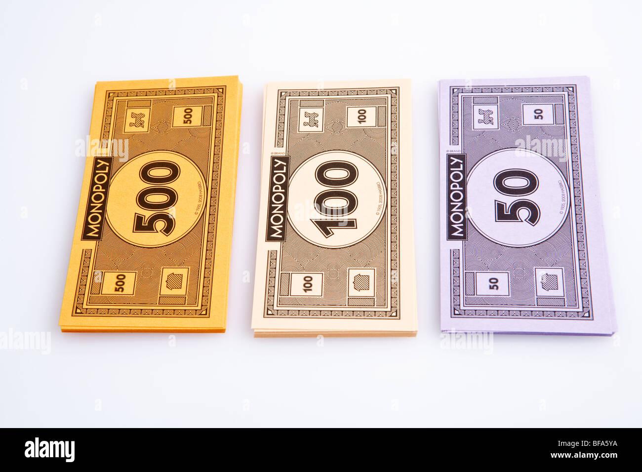 Monopoly Money - Stock Image