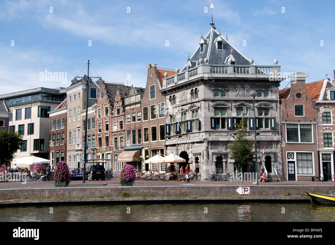 Haarlem Waag  Netherlands Holland Historic Town City - Stock Image