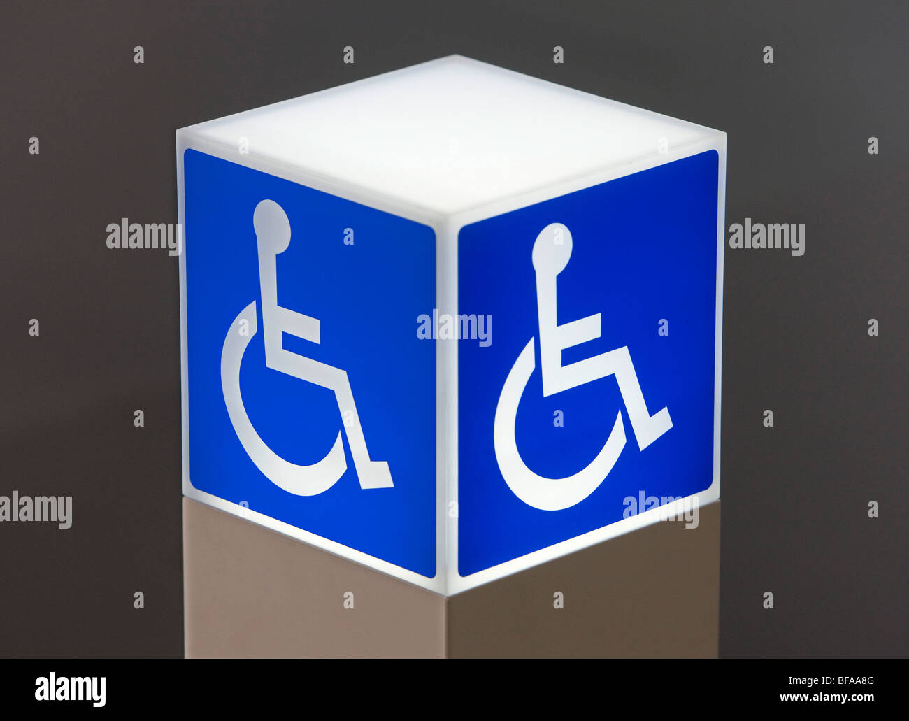 Wheelchair user . Stock Photo