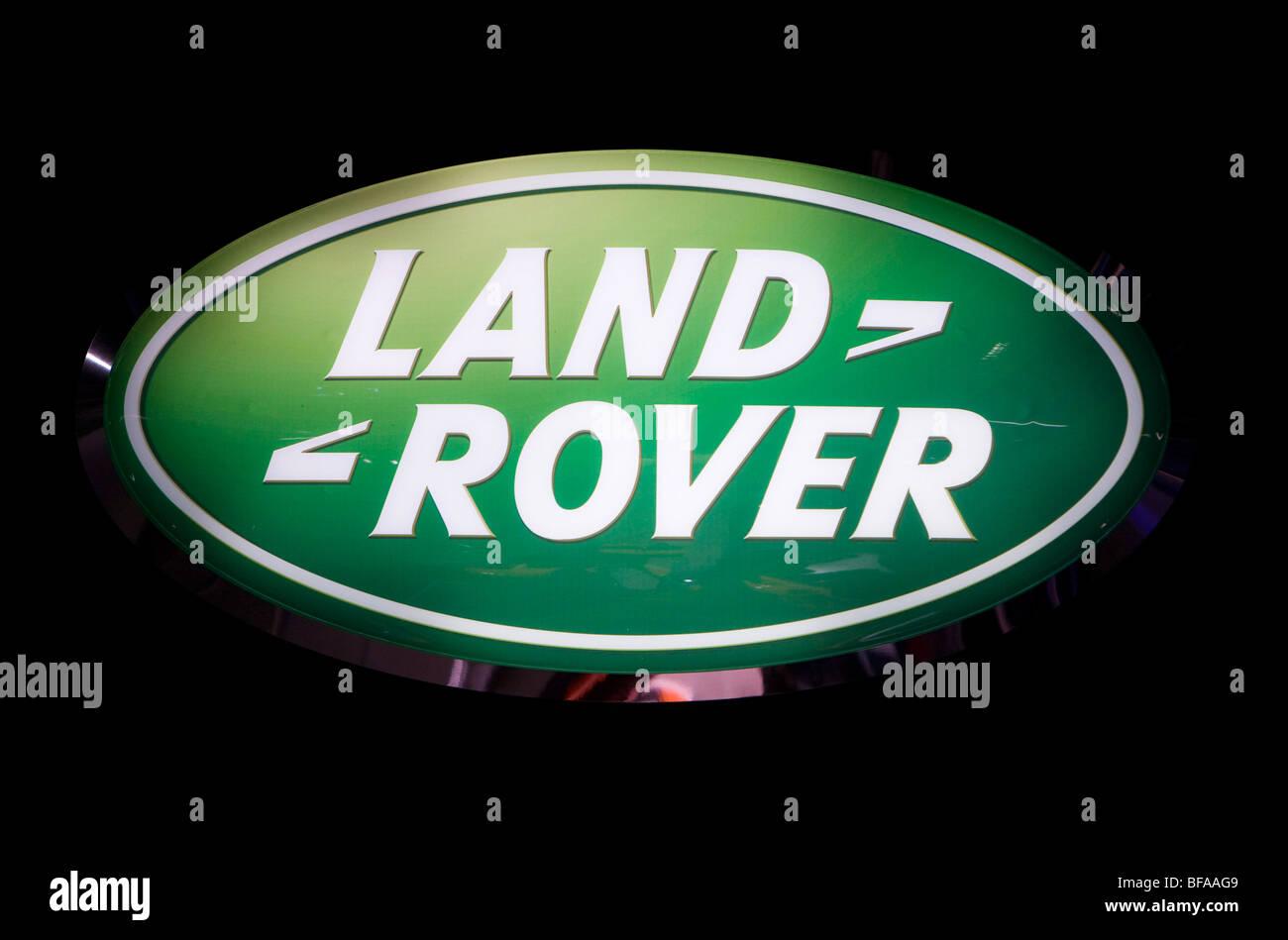 Logotype of Land Rover . - Stock Image