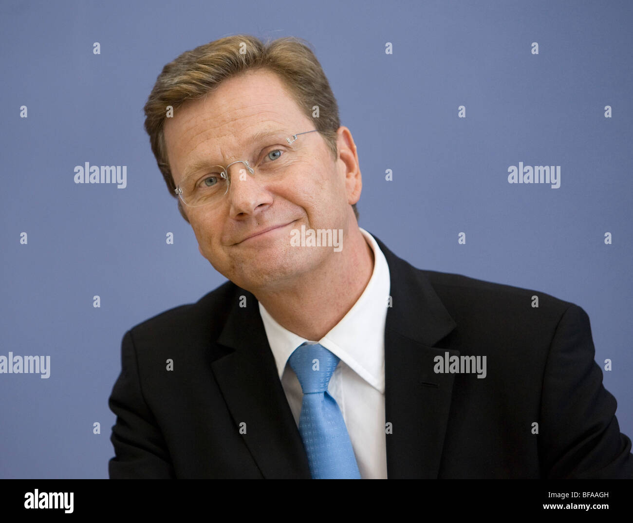 Guido WESTERWELLE , Chairman of the Free Democratic Party (FDP) - Stock Image