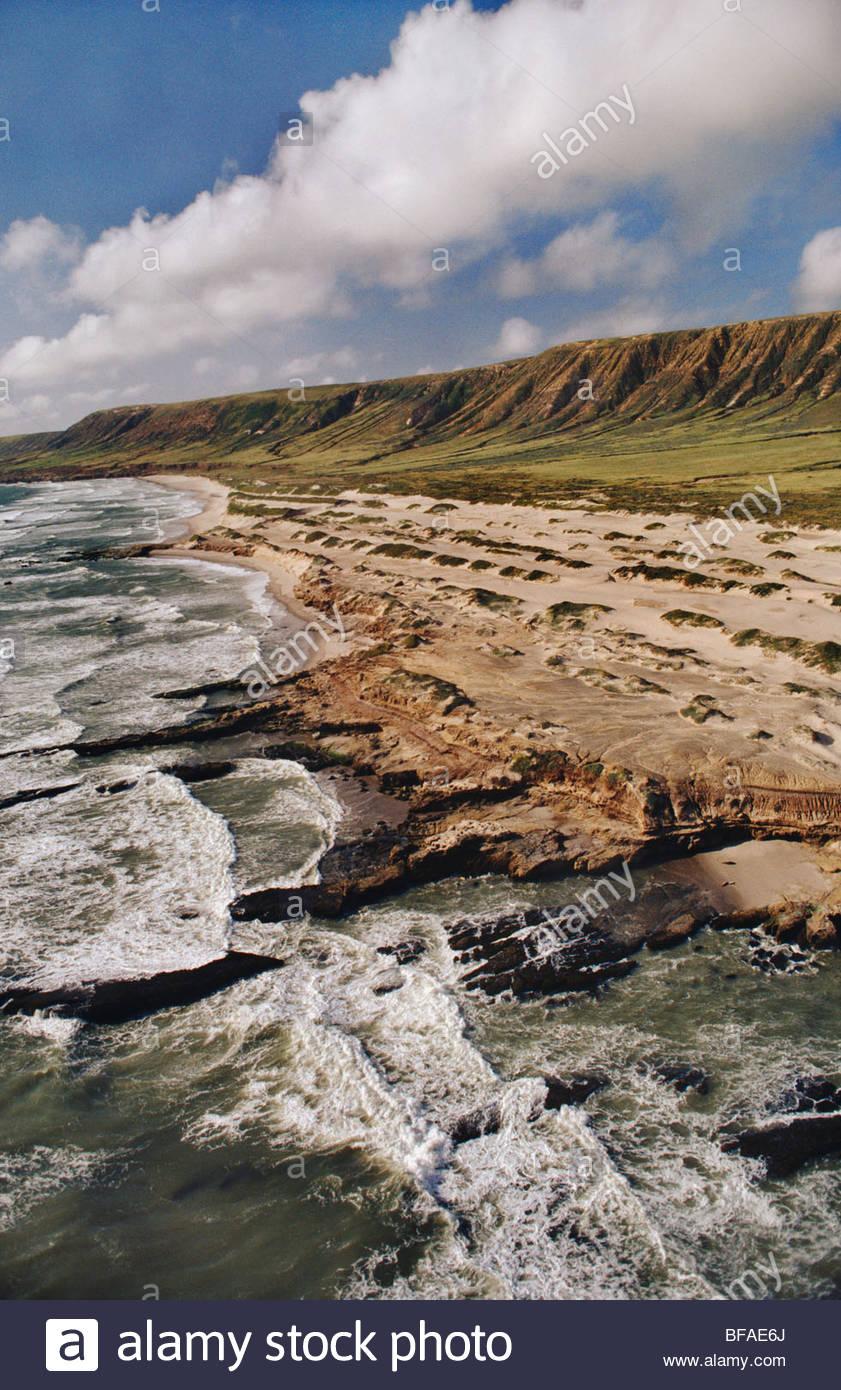 Santa Rosa island, Channel Islands National Park, California - Stock Image