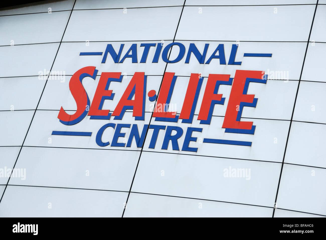 National Sea Life Centre, Birmingham, West Midlands, England, UK - Stock Image