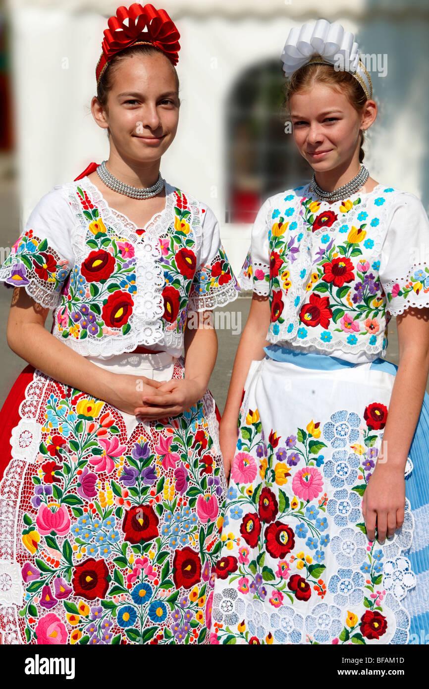 Hungarian Traditional Dress Stock Photos & Hungarian ...