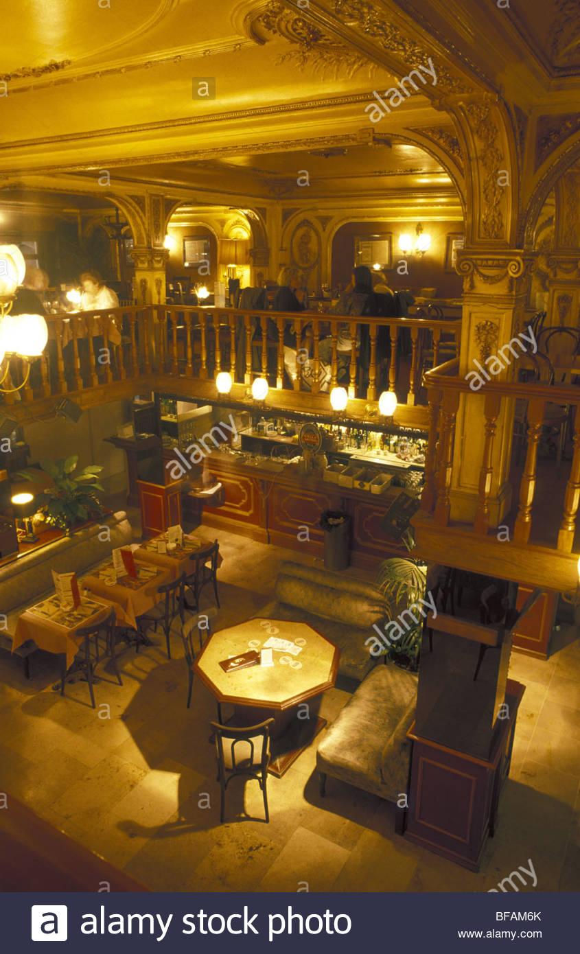 Bruxelles, Grand Cafe - Bruxelles, Grand Cafe Stock Photo