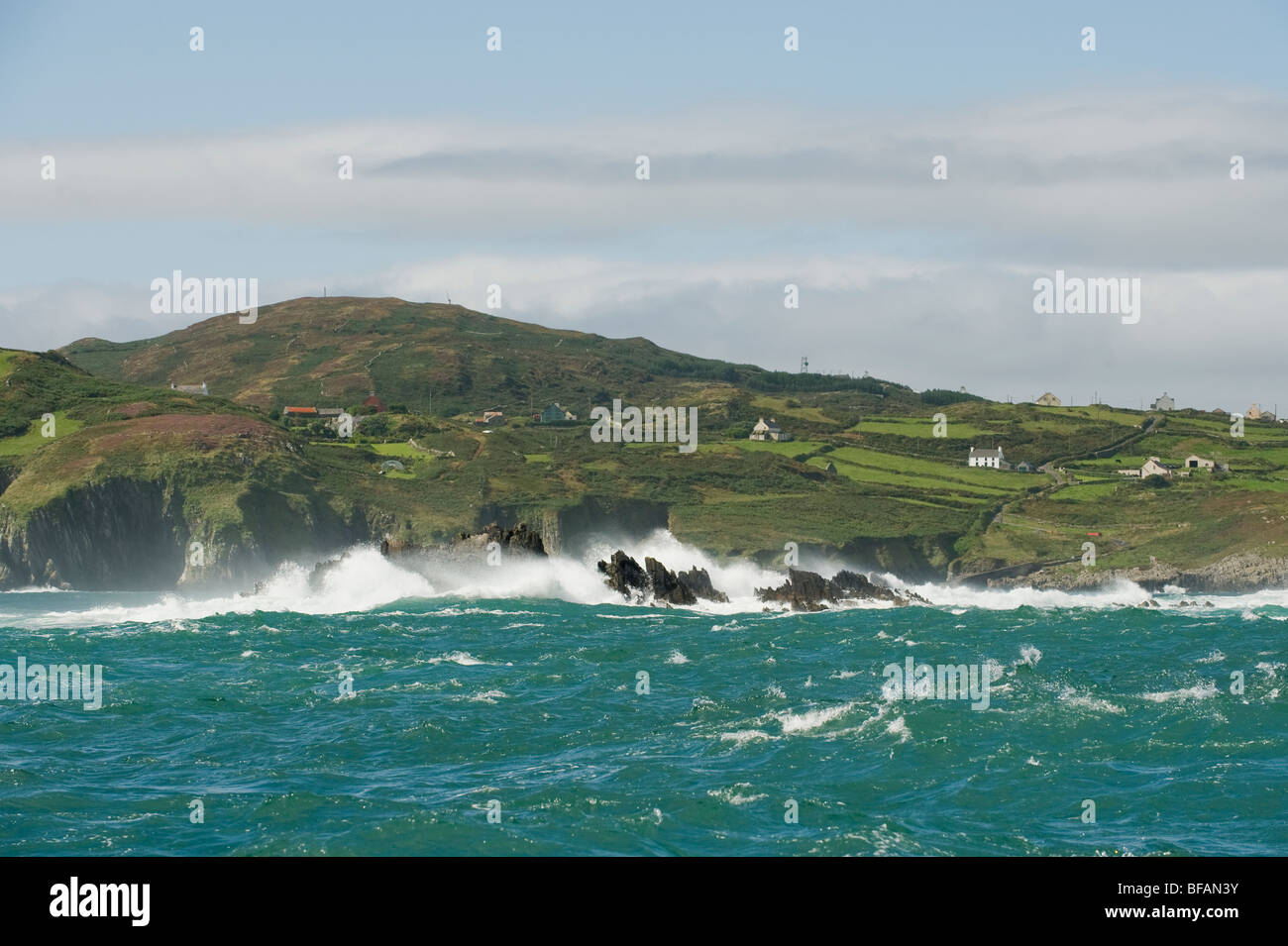 The Catalogues towards Heir Island, West Cork, Ireland - Stock Image