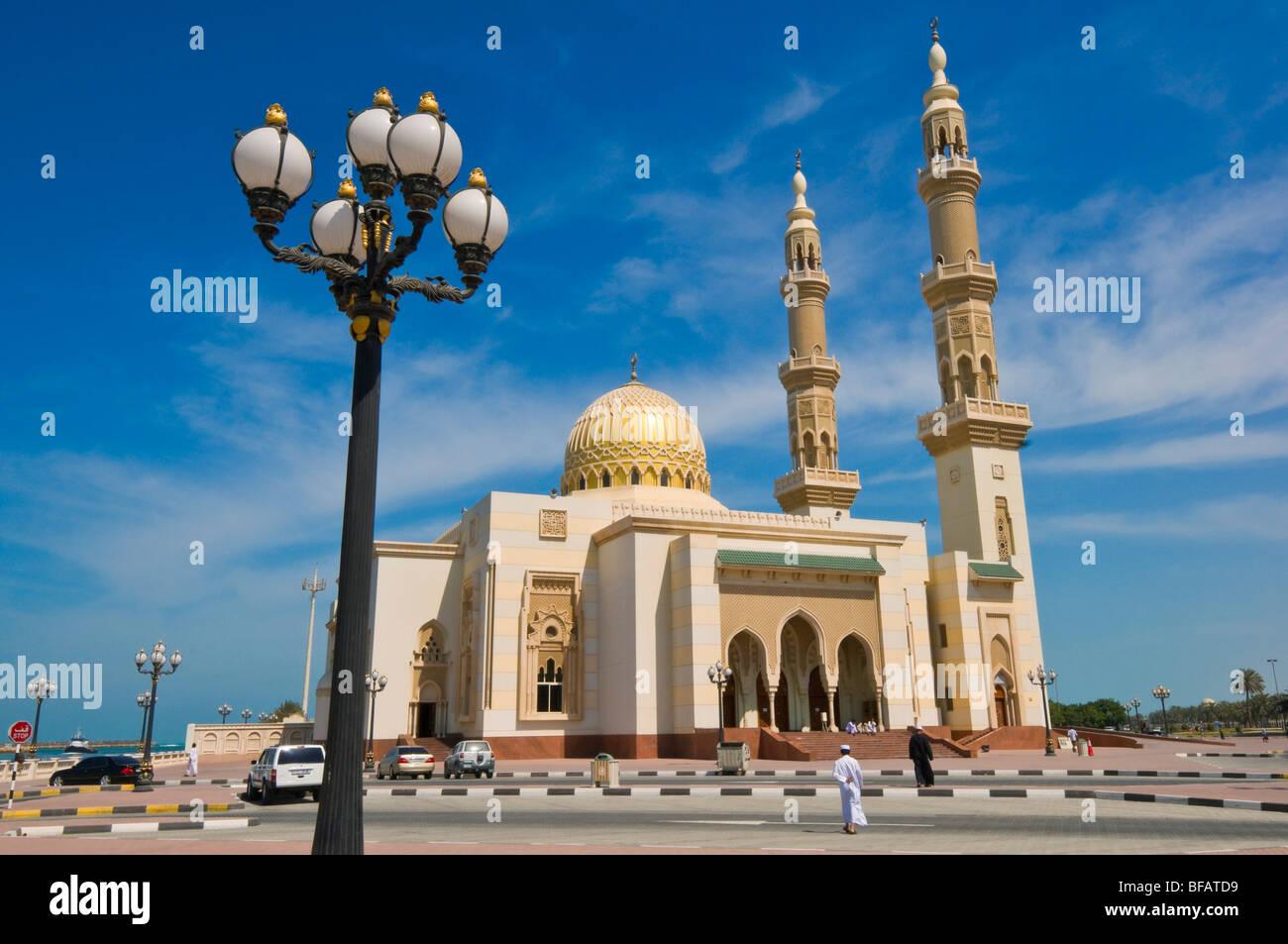 Sharjah Mosque United Arab Emirates - Stock Image