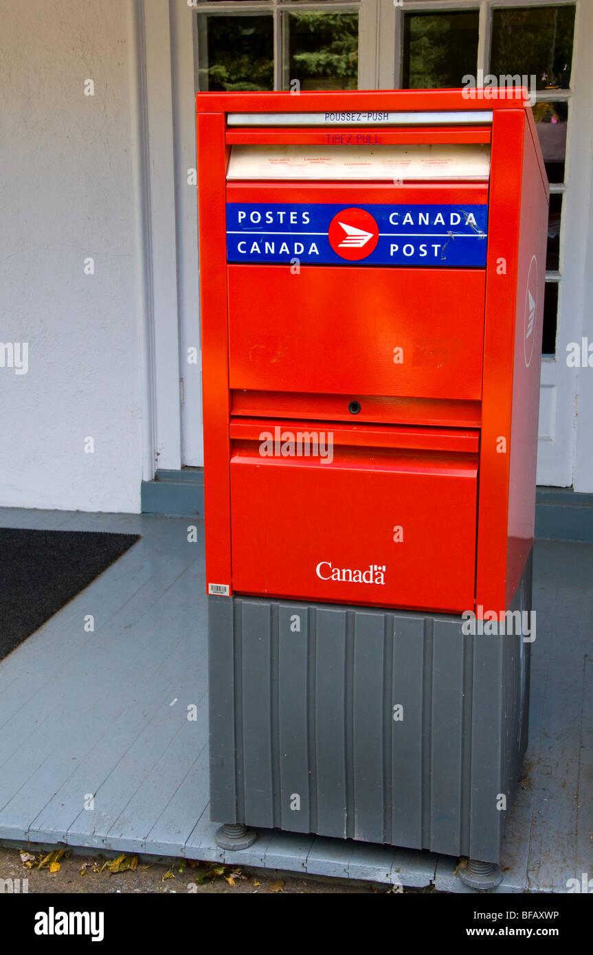 Postal service Canada - Stock Image